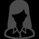 OL風の女性のアイコン