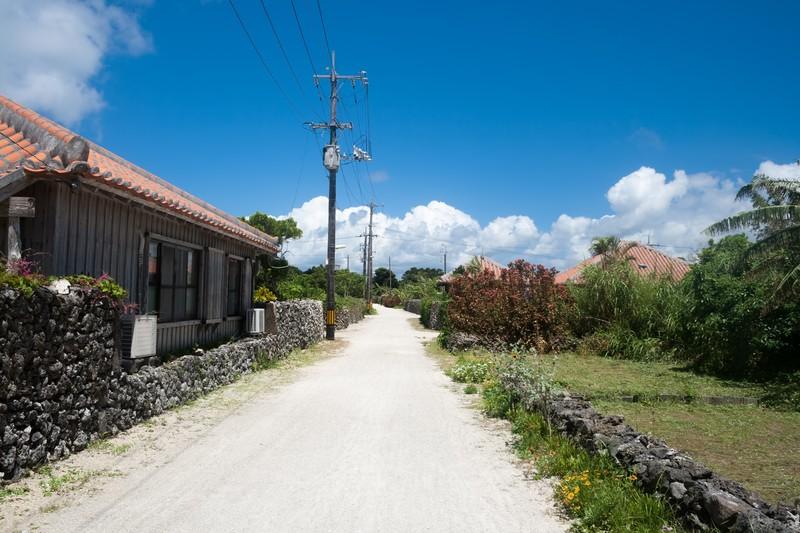 沖縄の街並み